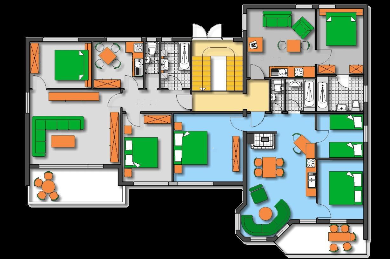 Lageplan Haus 2 Erdgeschoss