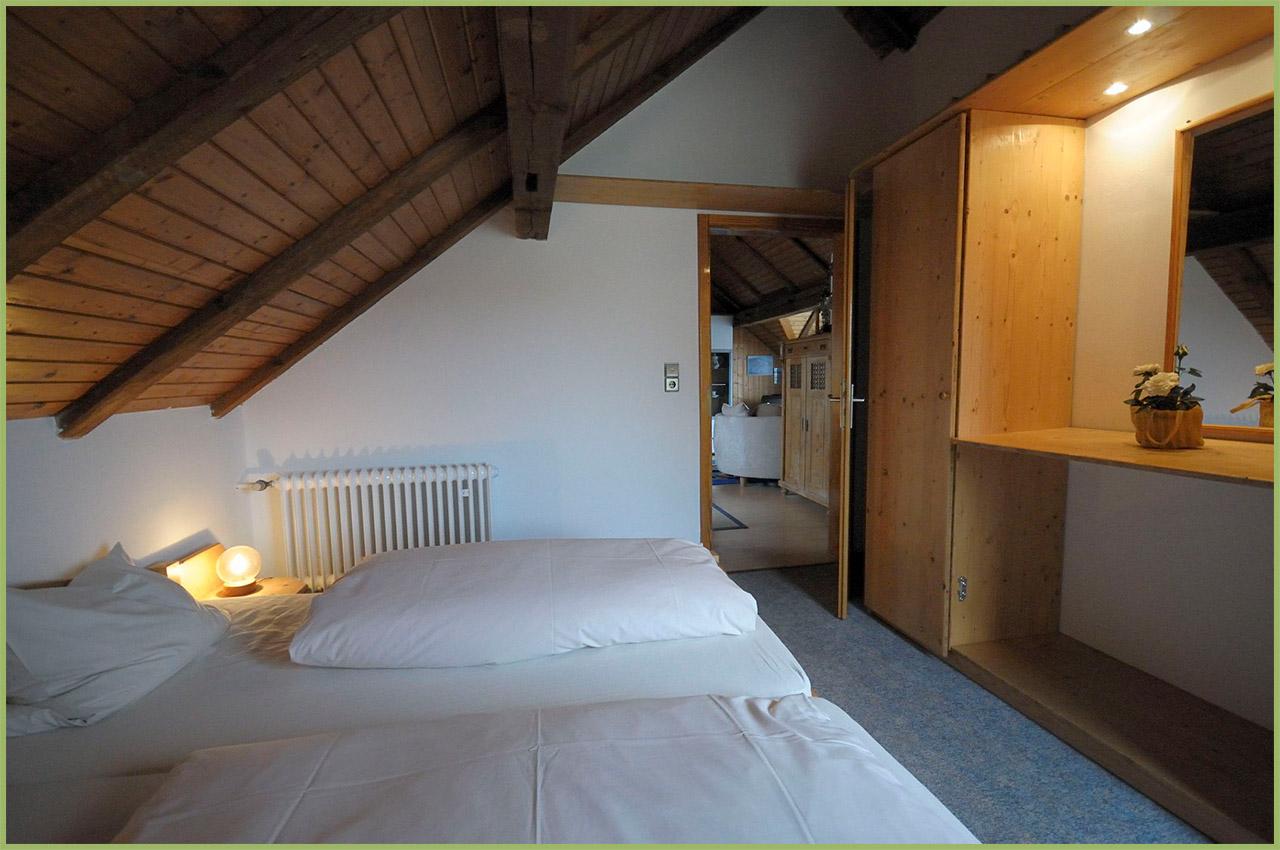 Ansicht Haus 2 Dachgeschoss Ferienwohnung 7 Nr. 4