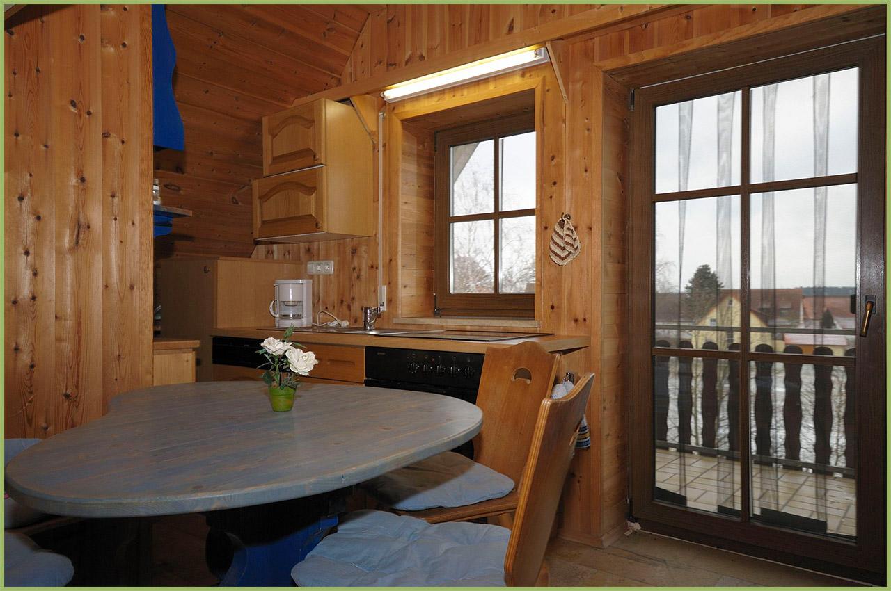 Ansicht Haus 2 Dachgeschoss Ferienwohnung 8 Nr. 5