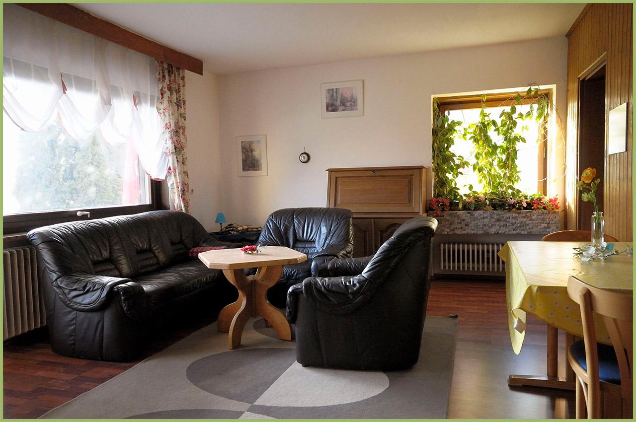 Ansicht Haus 2 Erdgeschoss Ferienwohnung 1 Nr. 2