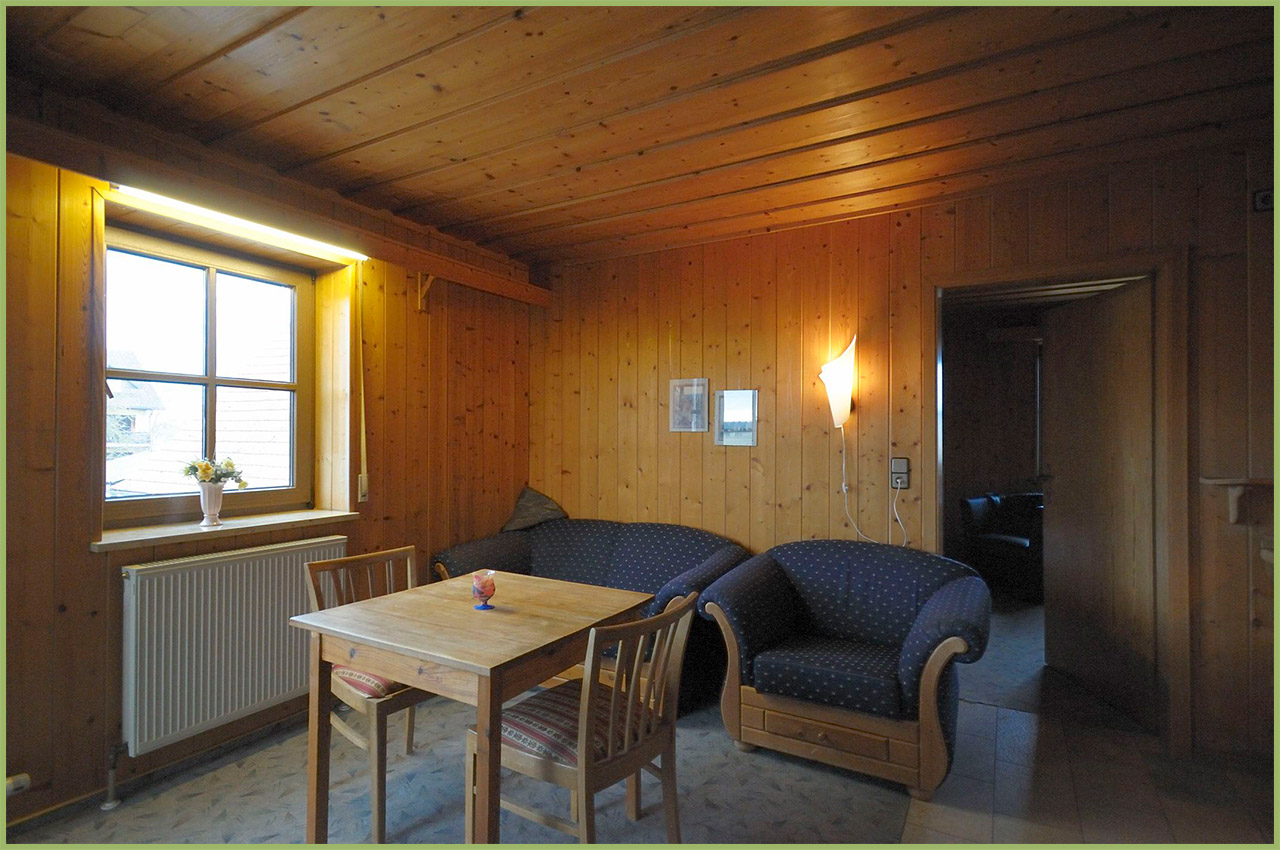 Ansicht Haus 2 Obergeschoss Ferienwohnung 6 Nr. 3