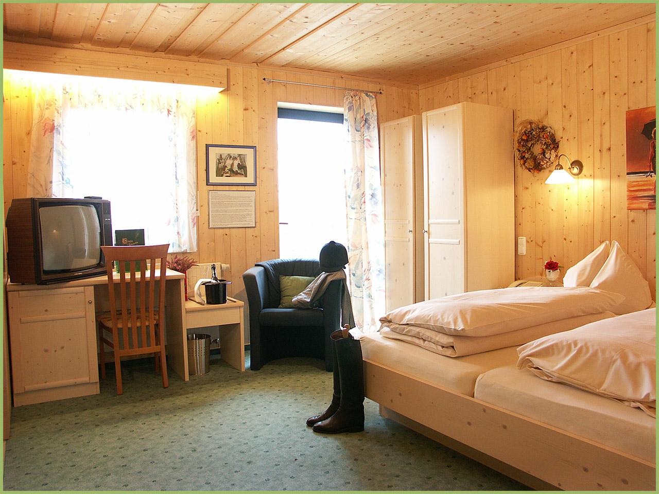 Ansicht Hotelzimmer