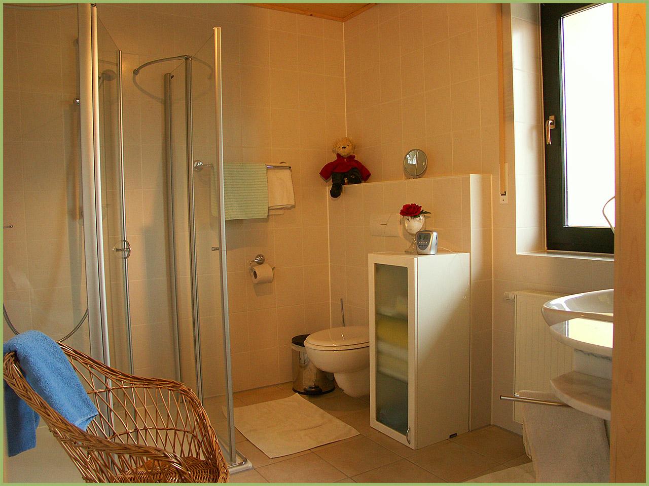 Ansicht Hotelzimmer Bad